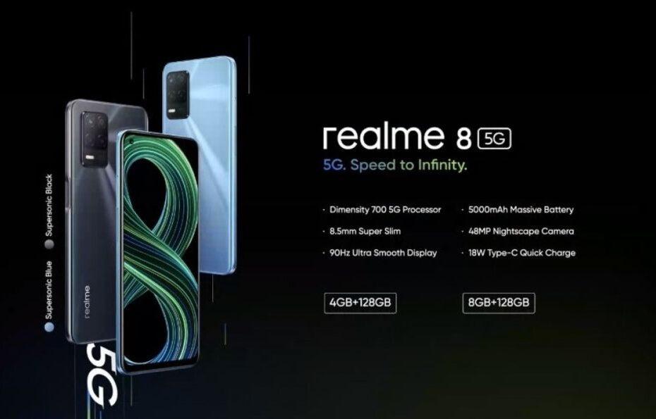 REALME 8 5G 1