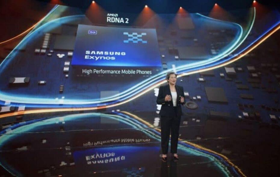 Samsung Exynos con GPU AMD RDNA2