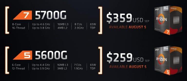 AMD Ryzen 7 5700G y Ryzen 5 5600G 768x333 1